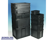 EL STANDARD EUOR STACKING CONTAINERS